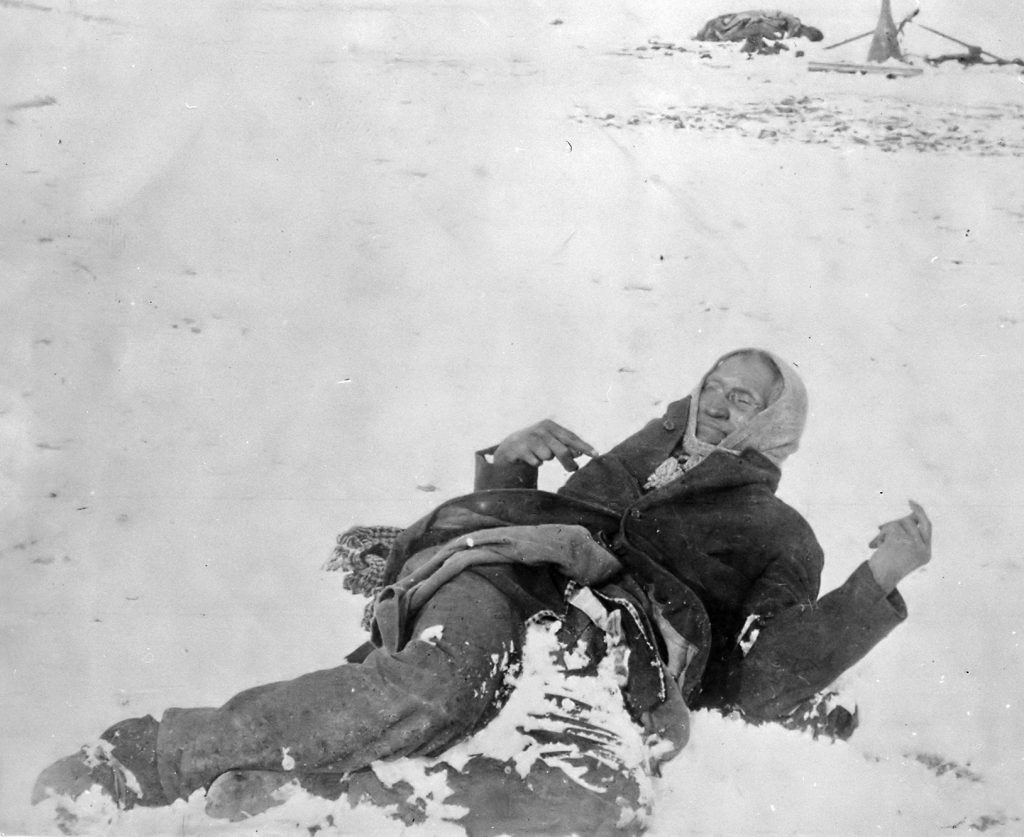 Chief Spotted Elk - Wounded Knee